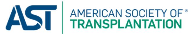 American Society of Transplantation