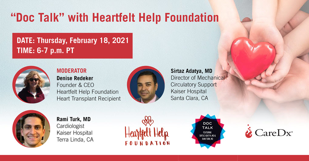 """Doc Talk"" with Heartfelt Help Foundation"