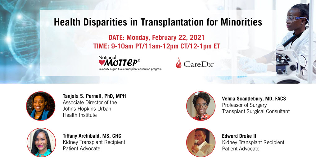Health Disparities in Transplantation for Minorities
