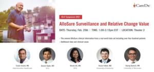 CEoT Symposium 2021: AlloSure Surveillance and Relative Change Value