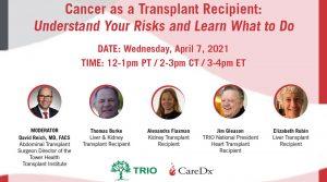 Cancer as a Transplant Recipient