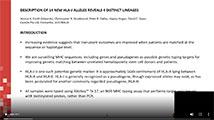 ASHI 2020 Description of 14 New HLA-J Alleles Reveals 4 Distinct Lineages