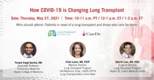 How COVID-19 is Changing Lung Transplant