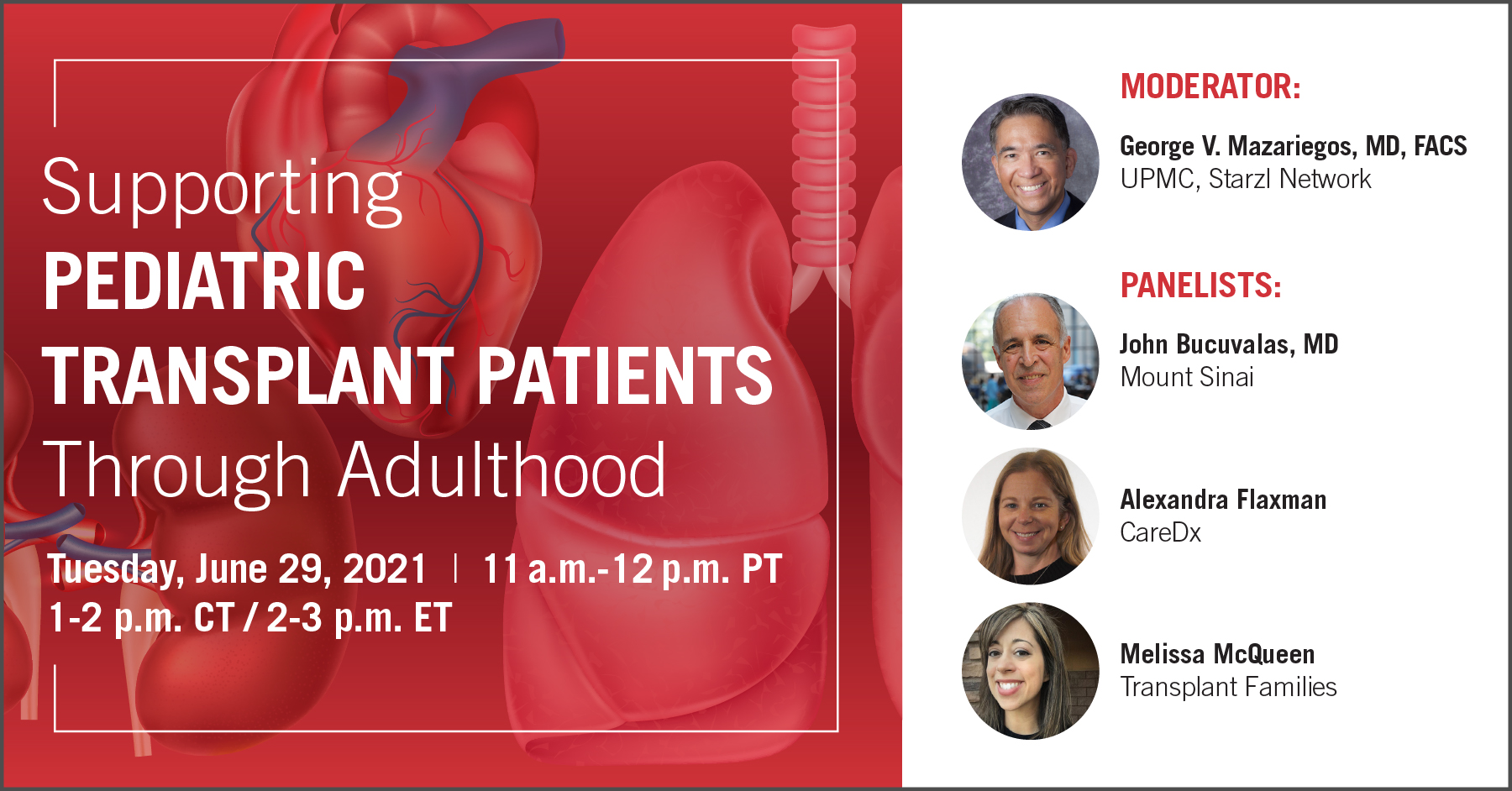 Supporting Pediatric Transplant Patients Through Adulthood