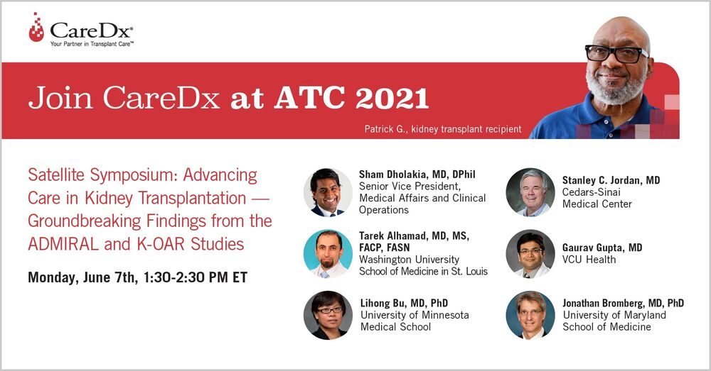 CareDx 6/7 ATC Symposium: Advancing Care in Kidney Transplantation – Groundbreaking Findings from ADMIRAL and KOAR