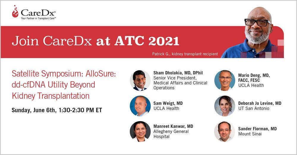 CareDx 6/6 ATC Symposium: AlloSure- dd-cfDNA Utility Beyond Kidney Transplantation