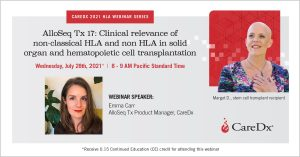 2021 HLA Webinar Series #5: AlloSeq Tx 17: Clinical relevance of non-classical HLA and non HLA in solid organ and hematopoietic cell transplantation