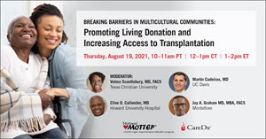 Promoting Living Donation and Increasing Access to Transplantaion