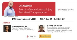 Role of Inflammation and Injury Post Heart Transplantation