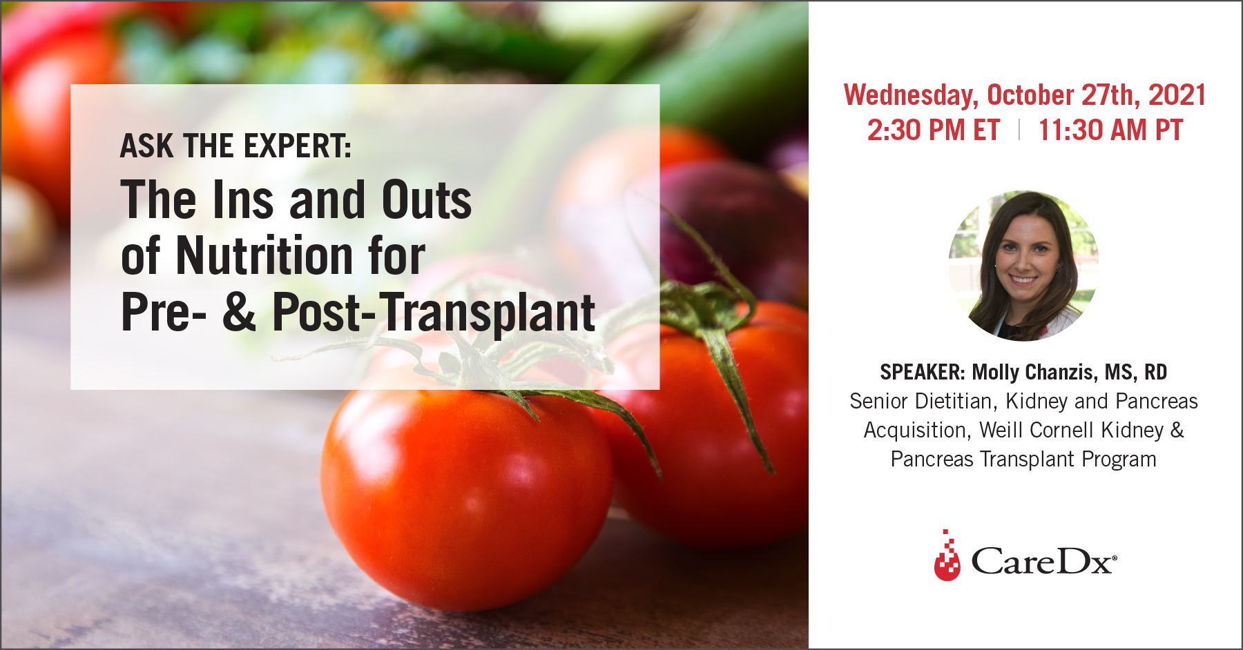 Ask the Expert: The Ins and Outs of Nutrition Pre- and Post-Transplant